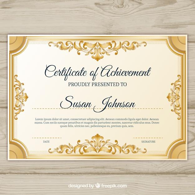 certificat border - Isken kaptanband co