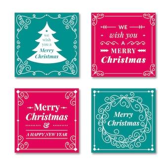 장식용 크리스마스 카드