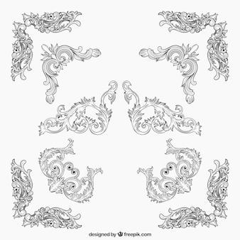 Angoli ornamentali