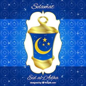 Ornamental eid-adha background