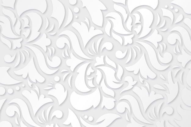 Ornamental flowers background design