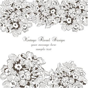 Design del telaio ornamentali