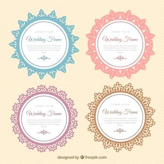 Cornici decorative per matrimoni