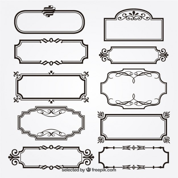 frame vectors photos and psd files free download rh freepik com vector frames free download vector frames png