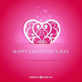 Декоративные сердце валентинка