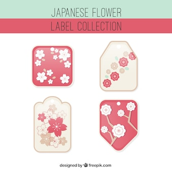 Ornamental japanese stickers