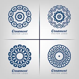 Ornamental logo design