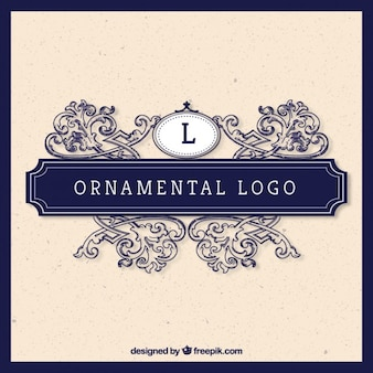 Декоративные логотип в стиле винтаж