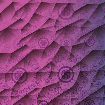 Ornamental mandala pattern
