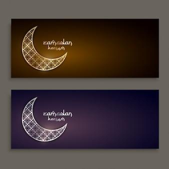 Рамадан фестиваль дизайна баннеров