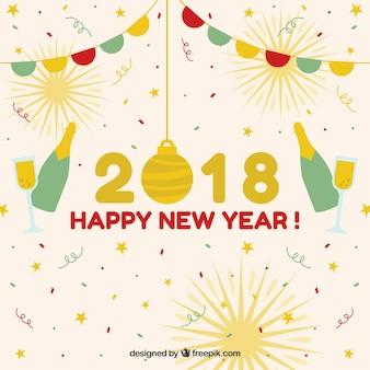Декоративный фон нового года