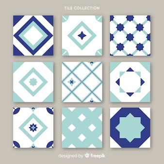 Ornamental pack of tiles