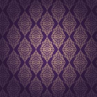 装飾用のパターン、紫色の背景