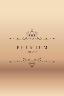 Marchio premium ornamentale
