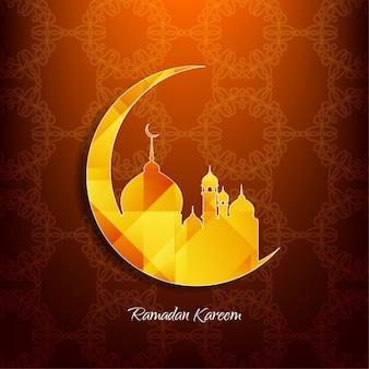 Религиозные дизайн рамадан карим фон