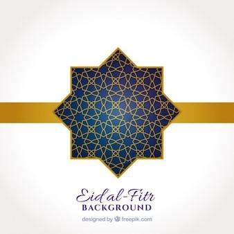 Ornamental star ramadan background