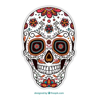 Ornamental sugar skull