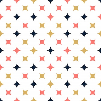 Ornamental vector seamless pattern with star. modern stylish texture with repeating tiles.