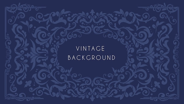 Ornamental vintage background