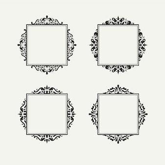 Ornamental vintage frame collection