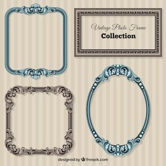 Ornamental vintage frames