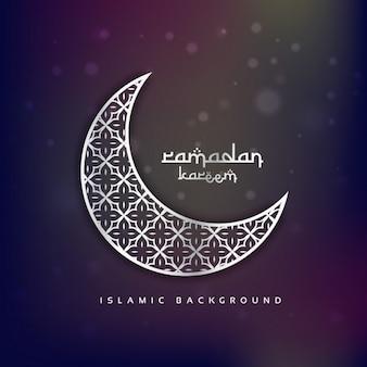 Ornamental white moon