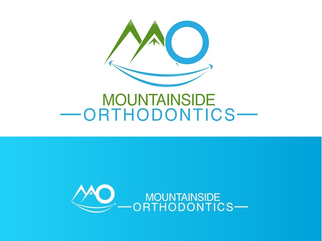 Orthodontic clinic logo design