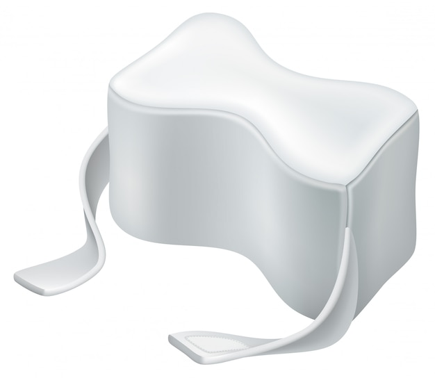 Orthopedic pillow.