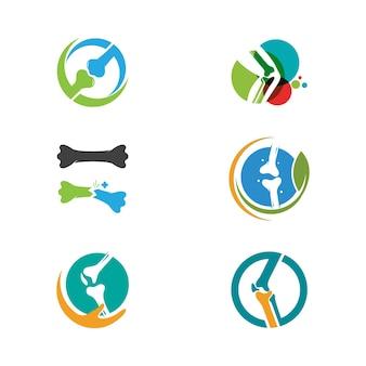 Orthopedic vector icon design illustration template