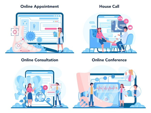 Онлайн-сервис или платформа для врача-ортопеда