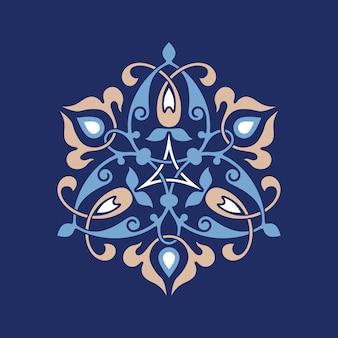 Ottoman decorative pattern