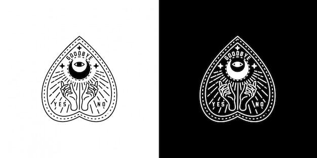 Ouiaモノラインデザイン