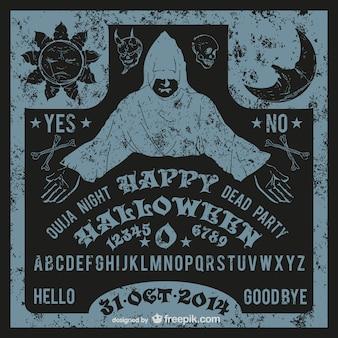 Ouijaのハロウィーンベクトル