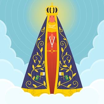 空のアパレシーダの聖母