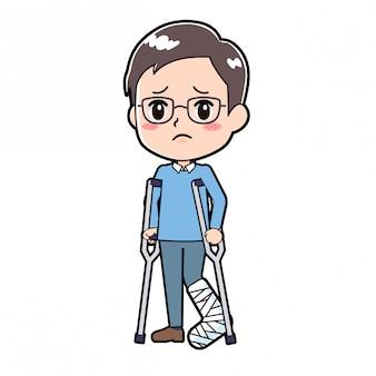 アウトラインdad_fractures-leg