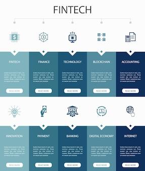 아웃바운드 마케팅 인포그래픽 10단계 원형 디자인. 전환, 고객, 리드 생성, 콜드 콜링 간단한 아이콘