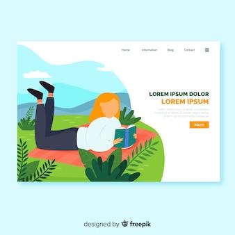Outdoor activities landing page