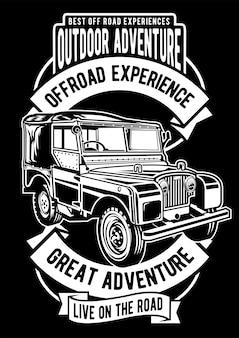 Outdoor adventure poster