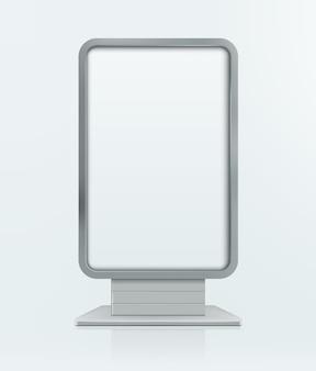 Баннер для наружной рекламы. иллюстрация, изолированные на фоне. графическая концепция для вашего дизайна