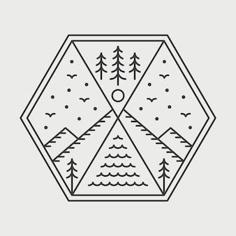 Наружный геометрический