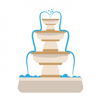 Outdoors fountain icon image