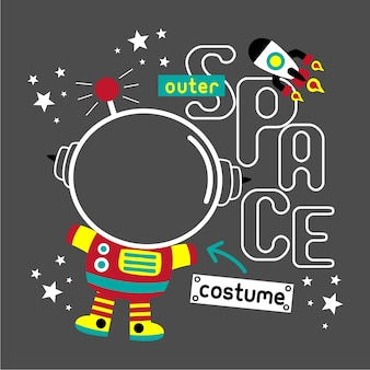 Outer space costume