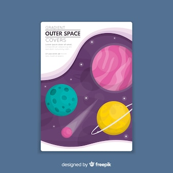Outer space cover