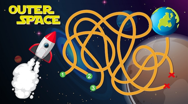 Outer space game