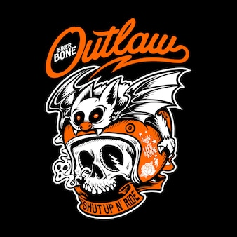 Outlaw illustration