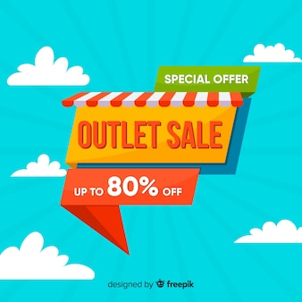 Outlet background