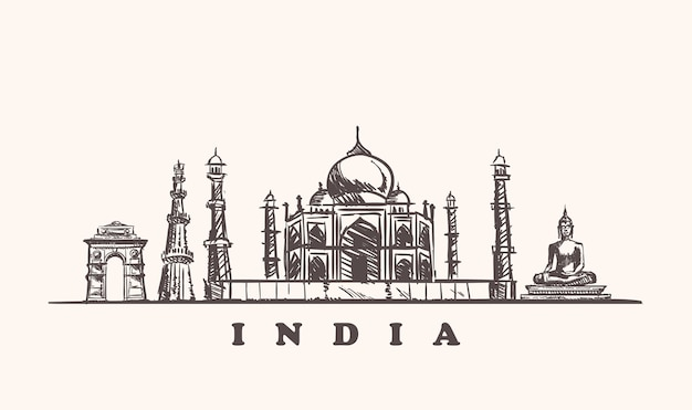 Outline of india's attractions