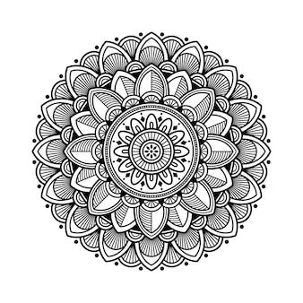 塗り絵の曼荼羅の概要