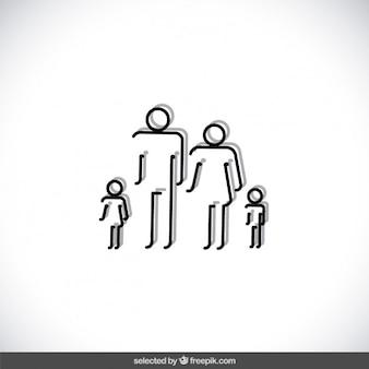 Famiglia delineato