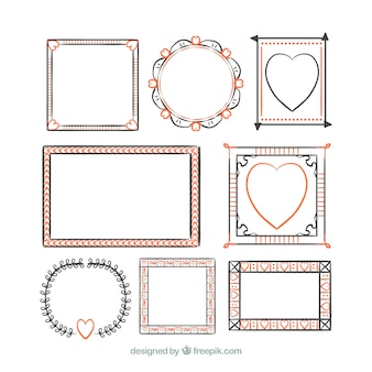 Outlined frames collection